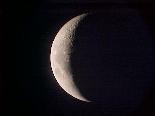 Crescent Moon, 2nd August 2003